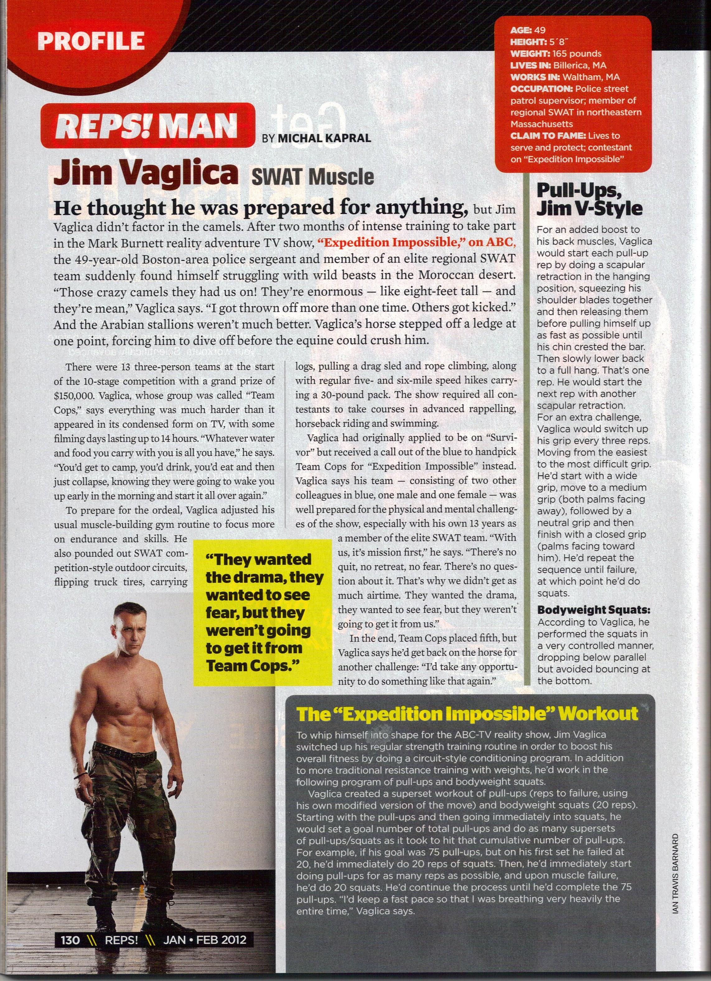 Reps Magazine 001