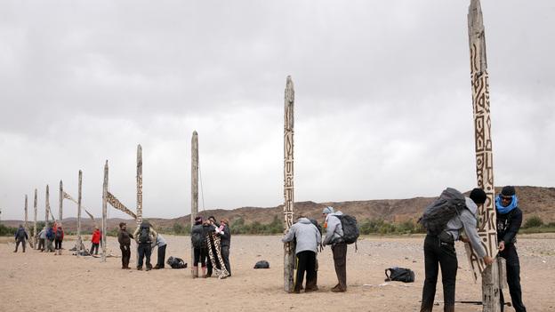 The Puzzle Poles